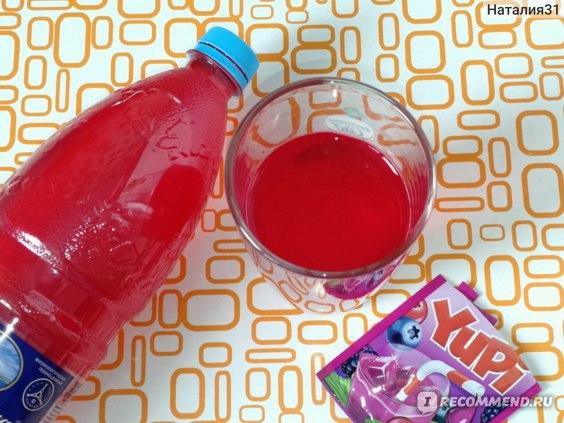 Напиток Yupi  со вкусом лесные ягоды. фото