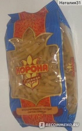 Макаронные изделия  Корона премиум из твердых сортов пшеницы (дурум) фото