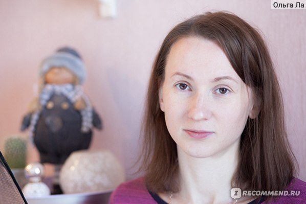 Общий вид лица, на щеках, носу и подбородке - СС крем Белл (фото без фотошопа)