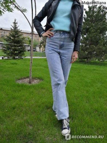 Прямые джинсы с Алиэкспресс. Отзыв