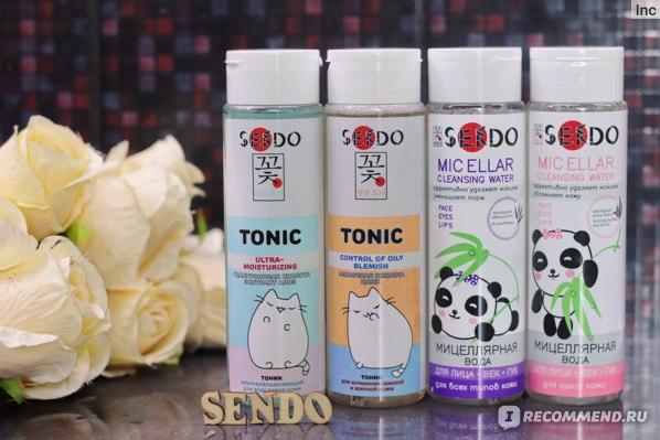 Мицеллярная вода SENDO Для сухой кожи фото