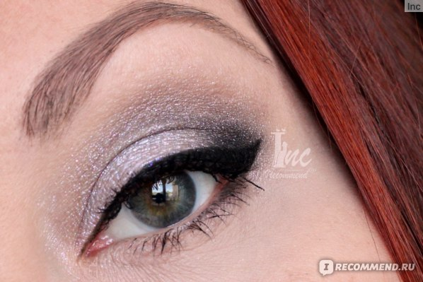 Подводка-фломастер для глаз L'Oreal Super Liner Perfect Slim, Кремовая подводка для глаз NYX Holographic Halo Cream Eyeliner, чёрный оттенок из палетки Sleek  VINTAGE ROMANCE,