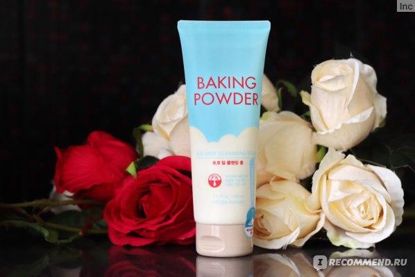 Пенка для умывания Etude House Baking Powder BB Deep Cleansing Foam
