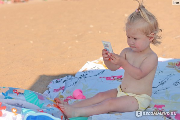 Детский солнцезащитный крем spf50