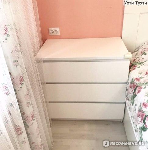 """Мебель для дома IKEA Комод """"Мальм"""" с 3 ящиками фото"""