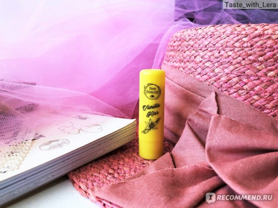 Бальзам для губ Bee Beauty Lip Balm Vanilla Kiss фото
