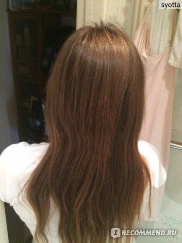 Волосы до пользования всей серией.