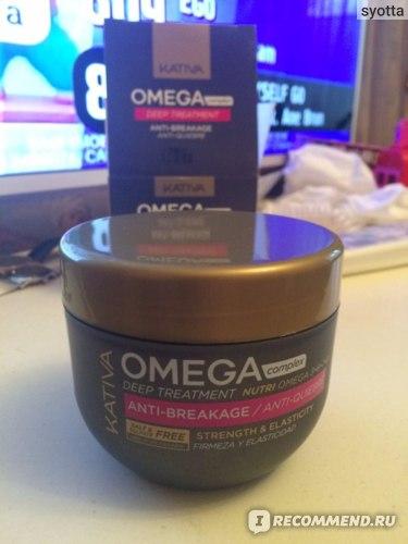 Маска для волос Kativa восстанавливающая «Антистресс» Omega Complex  фото