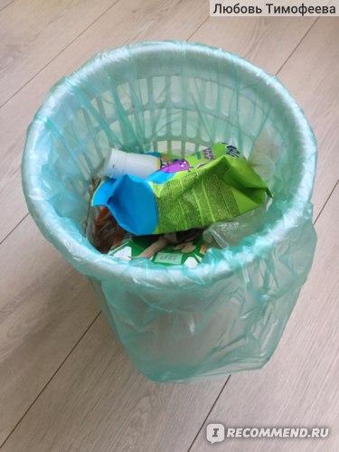 Пакет для мусора Avikomp в действии :)