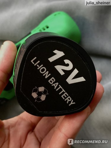 аккумуляторная дрель-шуруповерт Green 12 Zitrek