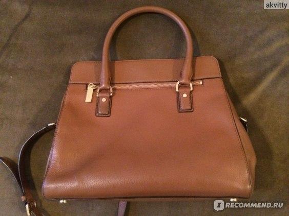 Задняя часть сумки с карманом