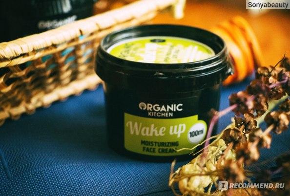 Крем для лица Organic Kitchen Wake up фото
