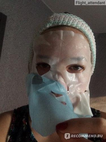 """Тканевая маска для лица Garnier Увлажнение + """"АКВА БОМБА"""" супер увлажняющая и тонизирующая фото"""
