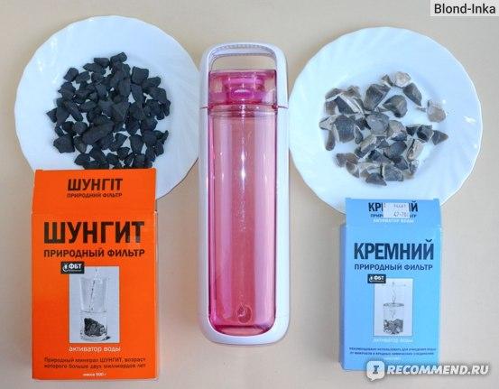 Шунгит, Питьевая бутылка KOR ONE Water Bottle, Кремний