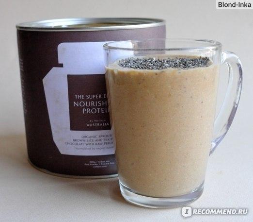 Готовый Смузи SUPER ELIXIR™ Nourishing Protein с Орехами, Бананом, Апельсином и Кокосовым молоком