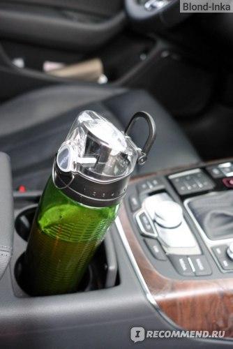 Hydrator bottle SUPER ELIXIR™ в дороге
