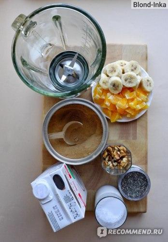Кокосовое молоко, Фрукты и Орехи для Смузи из SUPER ELIXIR™ Nourishing Protein