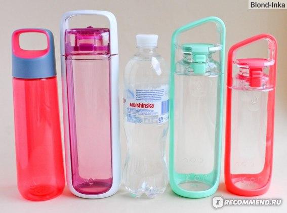 Бутылки для воды: KOR Aura 750 мл, KOR One 750 мл, ПЭТ 750 мл, KOR Delta 750 мл, KOR Delta 500мл