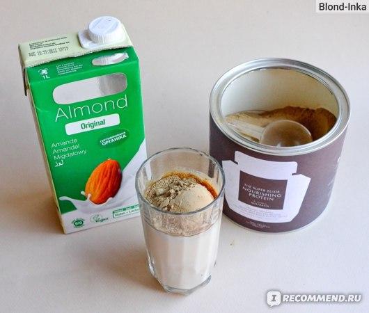 Миндальное молоко и Протеиновый Коктейль Супер-Эликсир