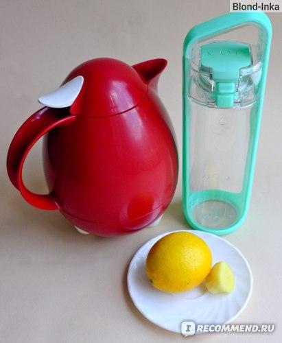 Лимонад из Имбиря и Лимона в бутылке КОР Дельта
