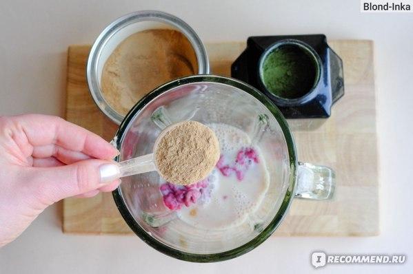 Приготовление Смузи с SUPER ELIXIR™ Nourishing Protein