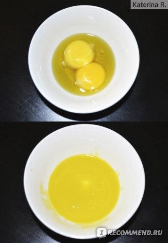 Яичная маска с маслами