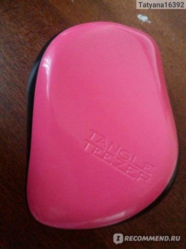 Расческа TANGLE TEEZER Compact Lulu Guinness (limited edition)  фото