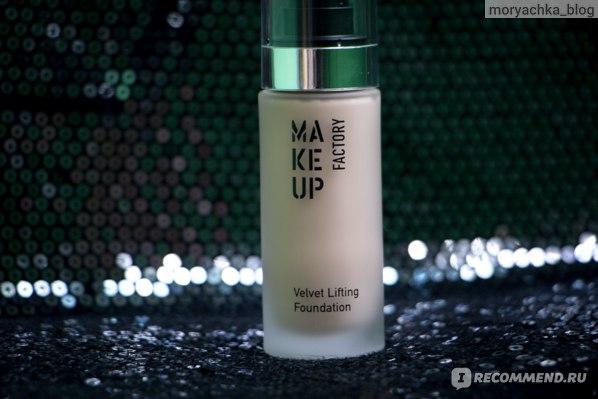 Тональный крем Make Up Factory Velvet Lifting Foundation фото