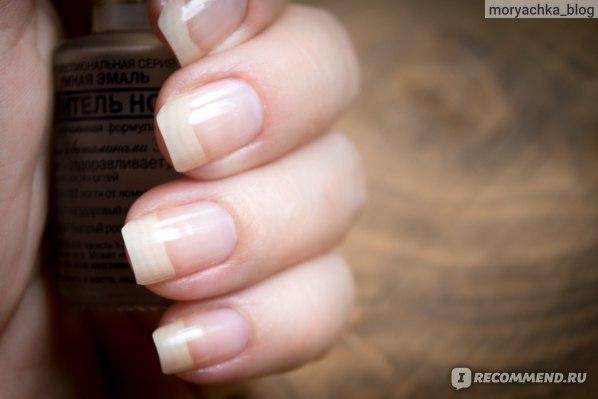 Ногти с умной эмалью в 1 слой