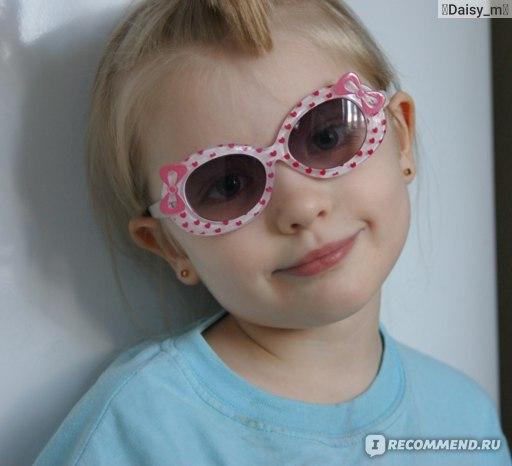 Солнцезащитные очки Aliexpress Free Shipping 1PCS Cute Cartoon Child UV Protection Fashion Sunglasses Baby Girl Kids Oculos Cute Bow Tie Chiledren Glasses фото