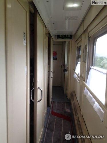 Поезд Москва -Анапа 012ма-011эа фото