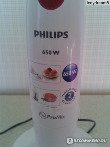 Блендер Philips HR 1628 фото