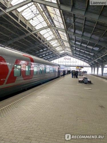 посадка в поезд