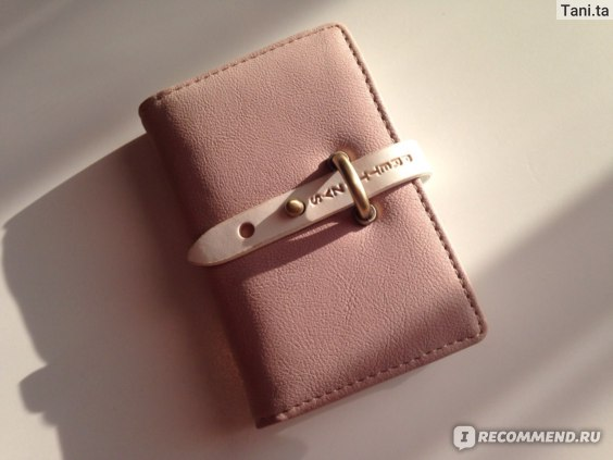Визитница Aliexpress Сard holder  lock button фото