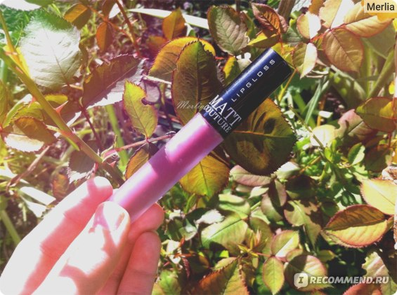 Блеск для губ BelorDesign Matt Couture фото