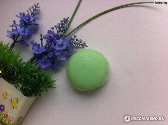 Ароматное глицериновое мыло BathTime Макарун фото