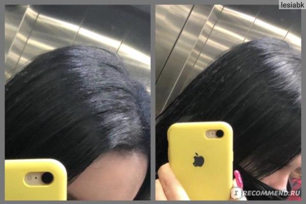 Волосы после сушки феном  Dyson Supersonic ( 5 часов на улице с дождиком)