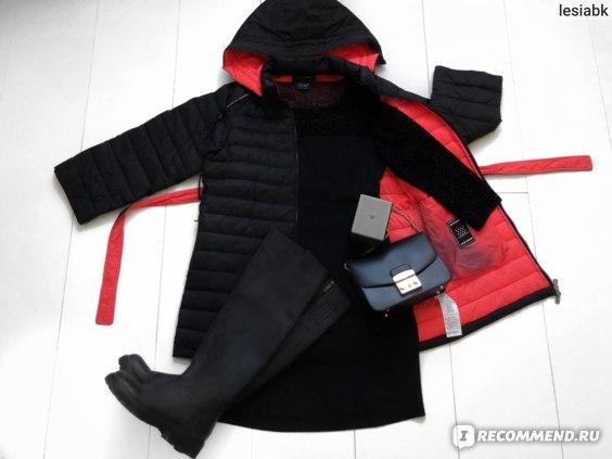 Куртка женская Emporio Armani С чем носить