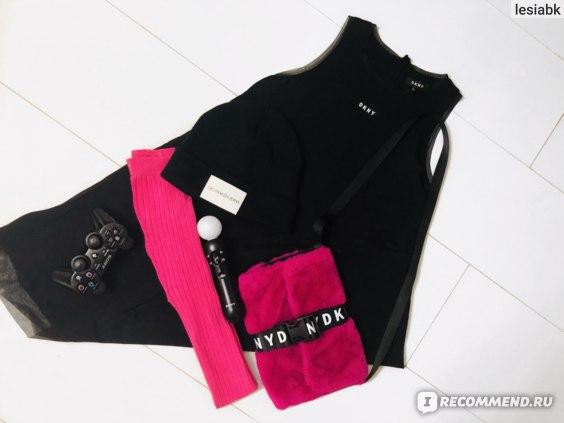 Платье DKNY Logo Dress Black