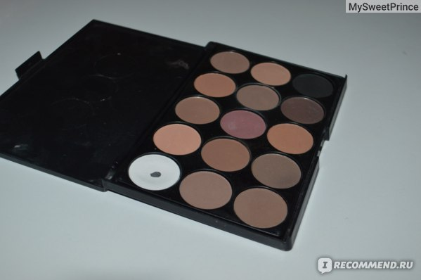 Палетка теней для век Aliexpress 1pcs Natural15 Colors Eye shadow cosmetics Long Lasting Makeup Eyeshadow Palette Cosmetic set For Women15 Earth naked Color фото