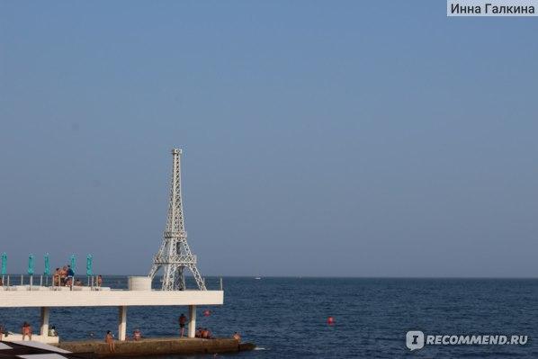 Ялта.  Крым .Массандровский пляж фото