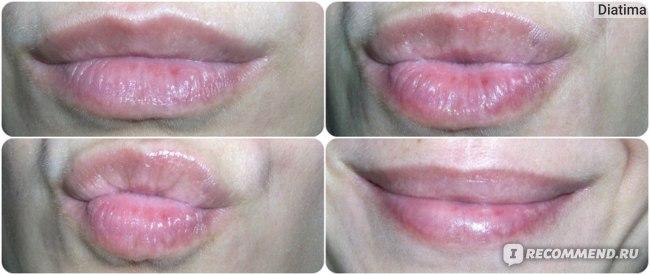 Немного куриных попок)))) Пыталась показать мягкость губ.