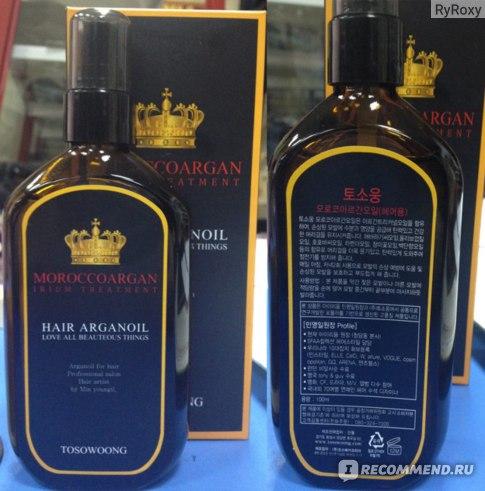 Масло для волос Tosowoong Moroccoargan Hair Argan Oil фото