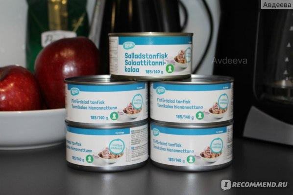 Тунец как одно из лучших малокалорийных продуктов для диеты Подсчета калорий