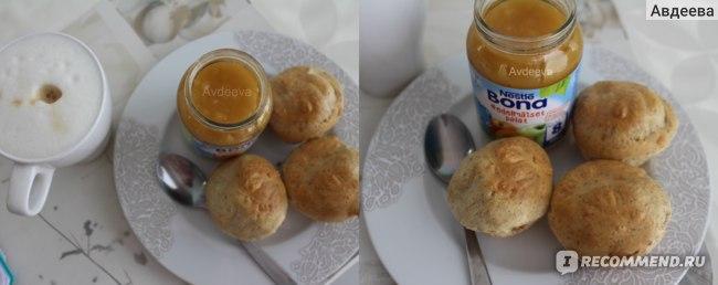 Протеиновые кексы с семенами чиа и детским питанием на завтрак