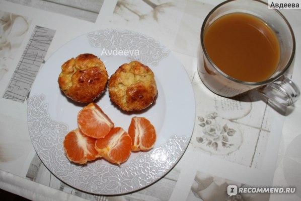 Варианты завтрака (кексы из творога)