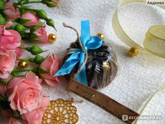 """Натуральное мыло-скраб Bpuro """"Espresso Romаno"""" для лица и декольте с мацератом кофе и экстрактом лимона  фото"""