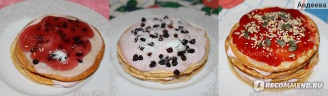 Варианты завтрака  (запеканка + детское питание)