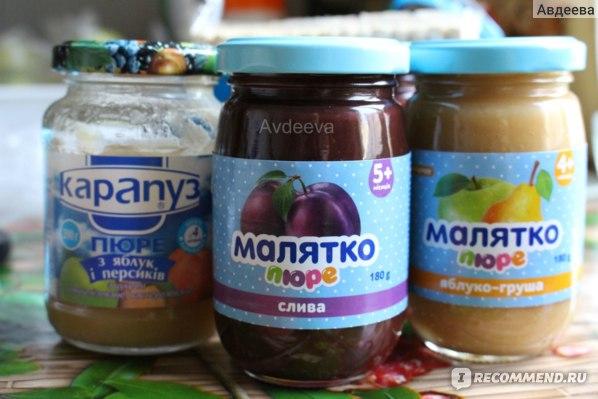 Детское питание вместо сладостей