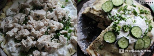 Рецепт диетического пирога